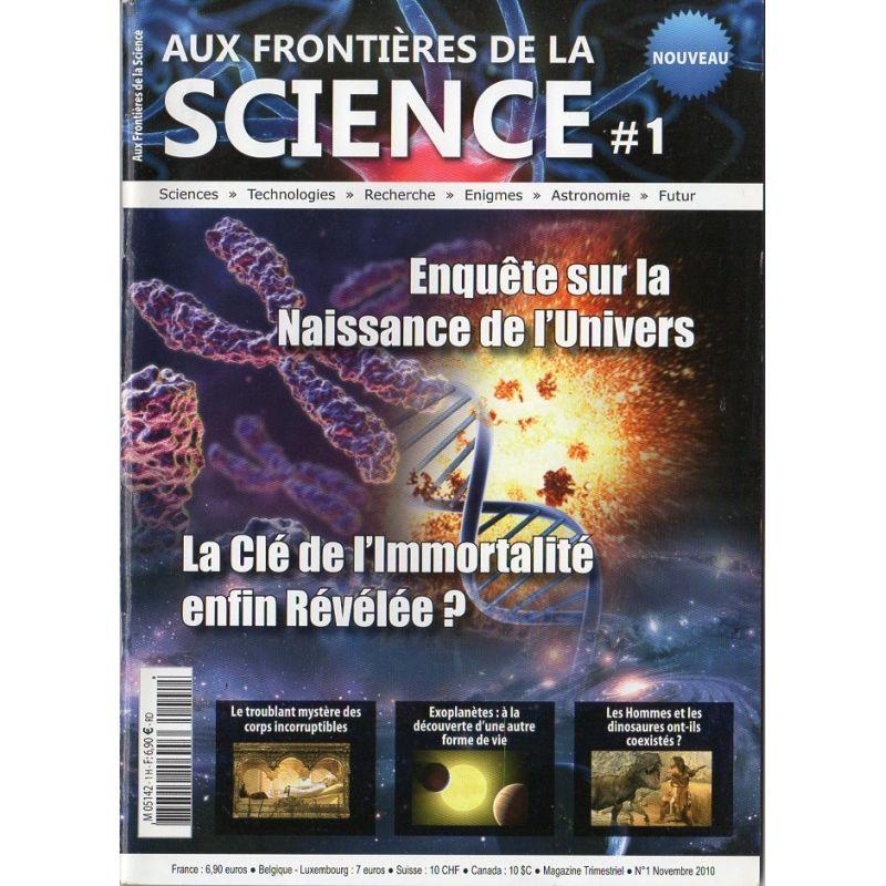 Aux frontières de la Science n° 1 - Enquête sur la naissance de l'Univers