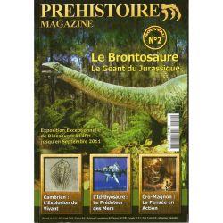 Préhistoire Magazine n° 2 - Le Brontosaure, le géant du Jurassique