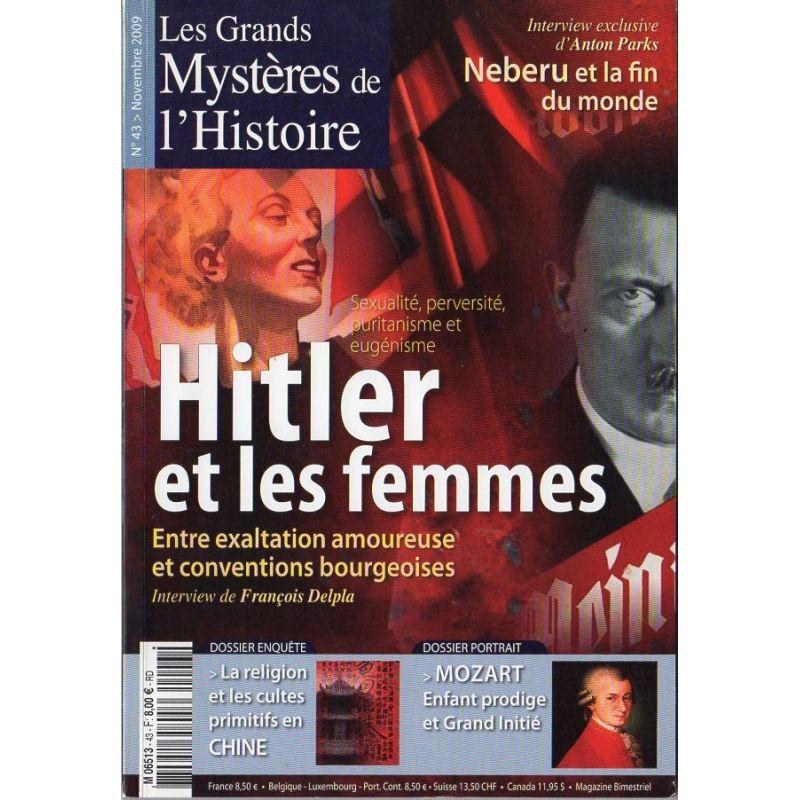 Les Grands Mystères de l'Histoire n° 43 - Hitler et les femmes