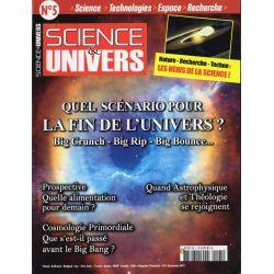 Science & Univers n° 5 - Quel scénario pour la fin de l'Univers ?