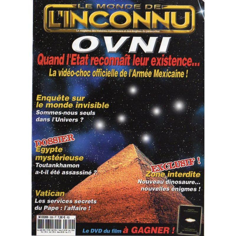 Monde Inconnu n° 309 - OVNI quand l'État reconnait leur existence...