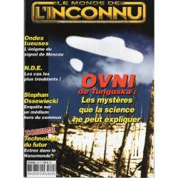 Monde Inconnu n° 310 - OVNI de Tungunska : les mystères que la science ne peut expliquer