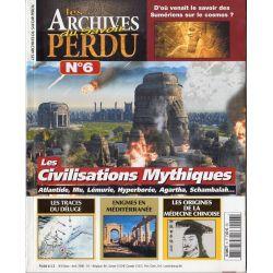 Les Archives du Savoir Perdu n° 6 - Les Civilisations Mythiques