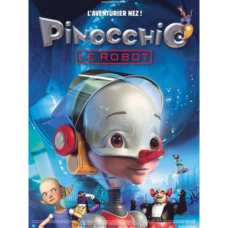 Pinocchio le robot (de Daniel Robichaud) - affiche