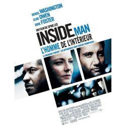 affiche Inside Man (avec Denzel Washington)