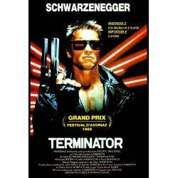 Terminator (de James Cameron) affiche du film