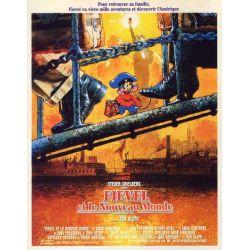 affiche Fievel et le Nouveau Monde (de Don Bluth)