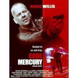 affiche Code Mercury (de Bruce Willis)