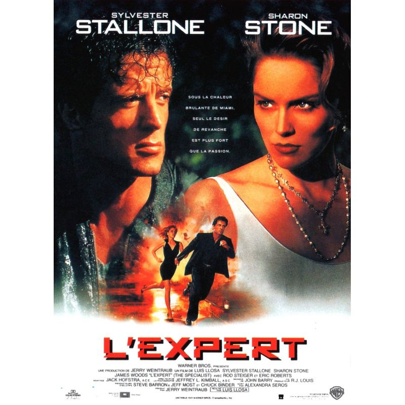 affiche L'Expert (avec Sylvester Stallone)