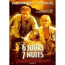 affiche Six jours Sept nuits (avec Harrison Ford)