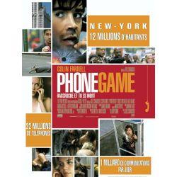affiche Phone Game (avec Colin Farrell)