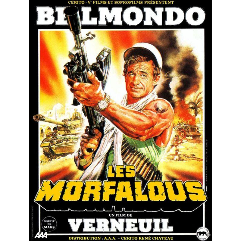 affiche Les Morfalous (avec Jean-Paul Belmondo)