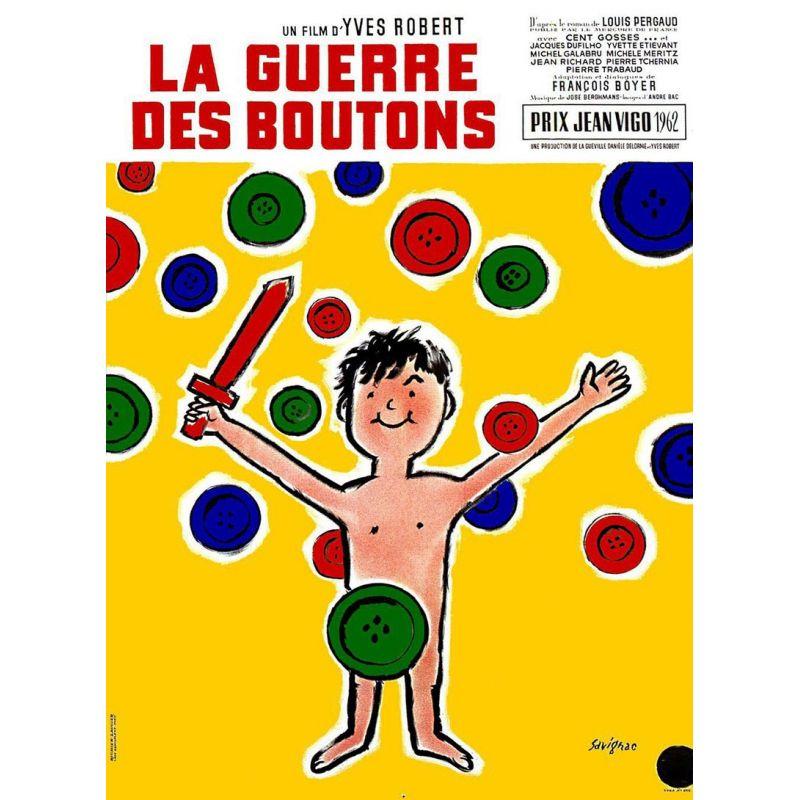affiche La Guerre des Boutons (de Yves Robert)