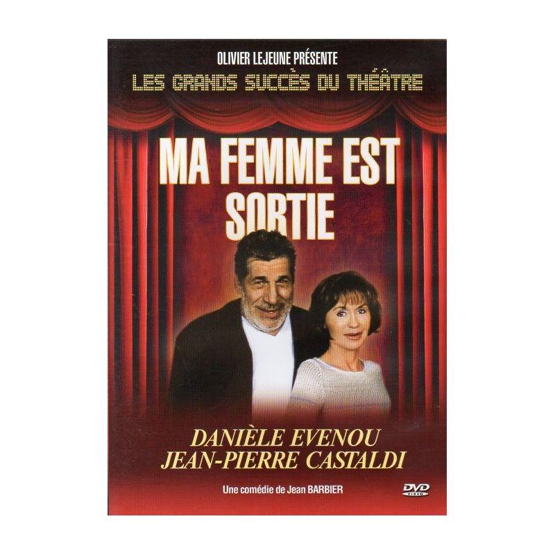Ma femme est sortie (avec Jean-Pierre Castaldi & Danièle Evenou) - DVD Zone 2
