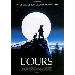 affiche L'Ours (de Jean-Jacques Annaud)