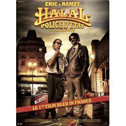 affiche Halal police d'état (avec Eric & Ramzi)
