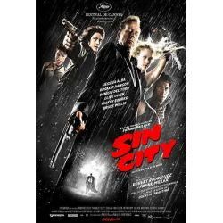 affiche film Sin City (avec Bruce Willis)