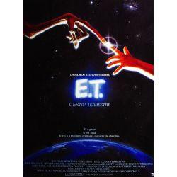 affiche du film  E.T., l'Extra-Terrestre (de Steven Spielberg)