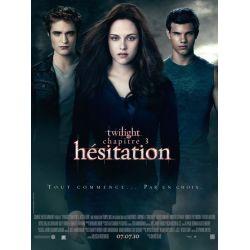 affiche film Twilight - Chapitre 3 : Hésitation (de David Slade)