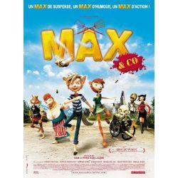 affiche film Max & Co (de Frédéric & Samuel Guillaume)