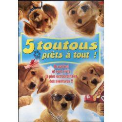 5 toutous prêts à tout ! (de Robert Vince) - DVD Zone 2