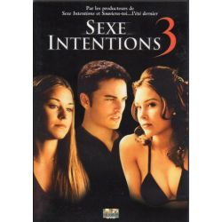 Sexe Intentions 3 (de Scott Ziehl) - DVD Zone 2