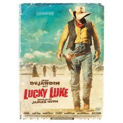 affiche du film Lucky Luke (avec Jean Dujardin)