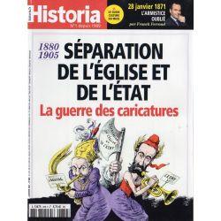 Historia n° 889 S - Séparation de l'Église et de l'État, la guerre des caricatures