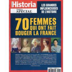 Historia Spécial n° 57 - 70 FEMMES qui ont fait bouger la France