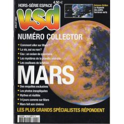 VSD Hors-série Espace n° 1 H - Numéro collector : MARS