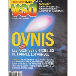 VSD Hors-série Ovnis n° 6 - OVNIS, les archives officielles de l'Armée Espagnole