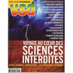 VSD Hors-série Paranormal n° 2407 H - Voyage au coeur des Sciences Interdites