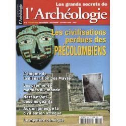 Les Grands Secrets de l'Archéologie n° 2 - Les civilisations perdues des Précolombiens