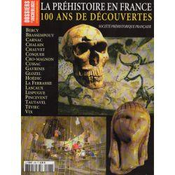 Dossiers d'Archéologie n° 296 - La Préhistoire en France, 100 ans de découvertes