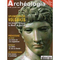 Archéologia n° 522 - Splendeurs de Volubilis