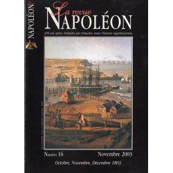 La Revue Napoléon n° 16 - Octobre, novembre, décembre 1803