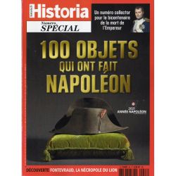 Historia Spécial n° 58 - 100 objets qui ont fait Napoléon
