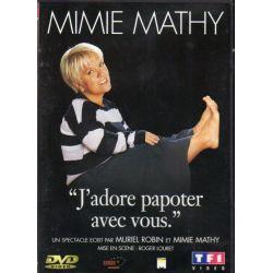 Mimie Mathy - J'adore papoter avec vous (2002) - DVD zone 2