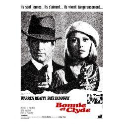 affiche Bonnie & Clyde (de Arthur Penn)