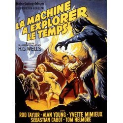 affiche La Machine à Explorer le Temps (de George Pal)