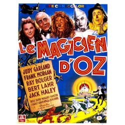 affiche Le Magicien d'Oz (de Victor Fleming)