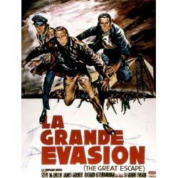 Affiche La Grande Évasion (de John Sturges)