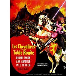 Affiche film Les Chevaliers de la Table Ronde (de Richard Thorpe)