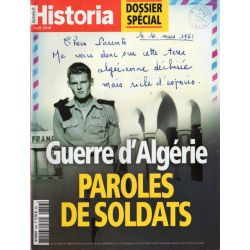 Historia n° 856 - Guerre d'Algérie, paroles de soldats