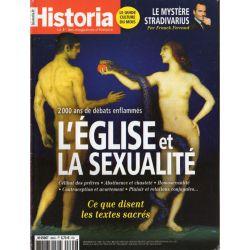 Historia n° 864 - L'Église et la sexualité. 2 000 ans de débats enflammés