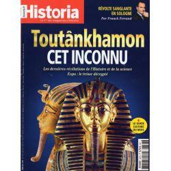 Historia n° 867 - Toutânkhamon, cet inconnu. Les dernières révélations de l'Histoire et de la science