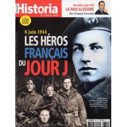 Historia n° 870 - 6 juin 1944. Les héros français du Jour J