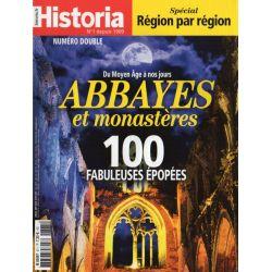 Historia n° 871-872 - Abbayes et monastères. 100 fabuleuses épopées. Du Moyen Âge à nos jours