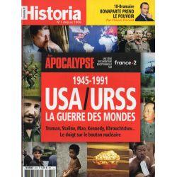Historia n° 875 - 1945-1991. USA-URSS. La guerre des mondes