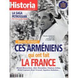 Historia n° 876 - Ces Arméniens qui ont fait la France